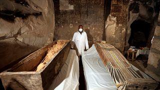 Descubren una tumba en Egipto de 3300 años