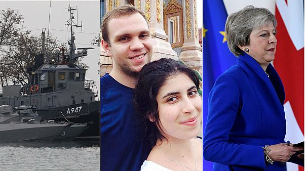 Europe briefing: Black Sea face-off, Brexit deal and Matthew Hedges pardoned