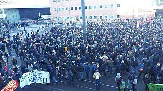 """""""Basel nazifrei"""" gegen rechtsextremen Aufmarsch"""
