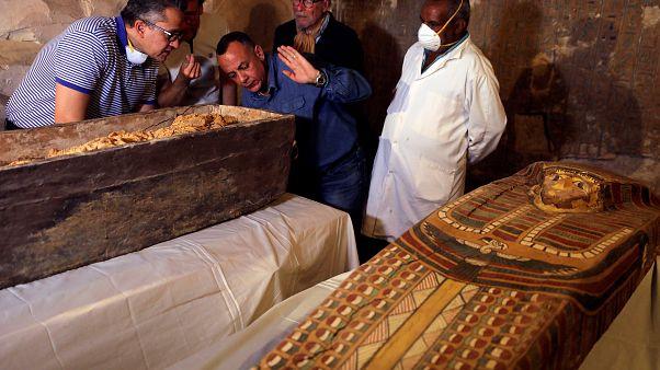 Αίγυπτος: Στο φως άθικτη σαρκοφάγος γυναίκας ηλικίας 3.000 ετών