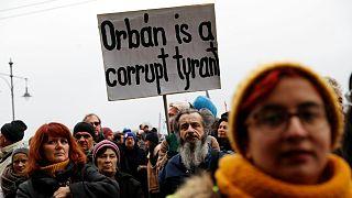 Estudantes húngaros exigem continuidade da Universidade Centro-Europeia