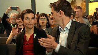 Ska Keller et Bas Eickhout, les candidats des Verts