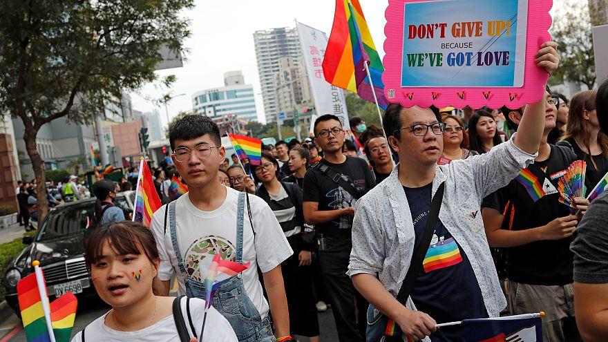 Les Taïwanais se prononcent contre le mariage homosexuel
