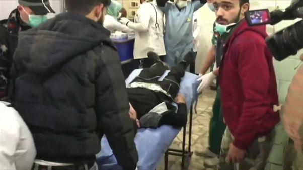 روسيا تعلن قصف حلب بقذائف غاز الكلور وسوريا تطالب بالتدخل الفوري لمجلس الأمن