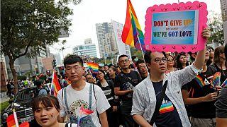 رفراندوم قانونی شدن ازدواج همجنسگرایان در تایوان رای نیاورد
