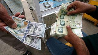 تقویت ۳۵ درصدی نرخ ریال ایران در برابر دلار آمریکا