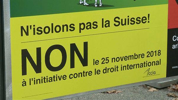 Schweiz: Klares Nein zur Selbstbestimmungs-Initiative