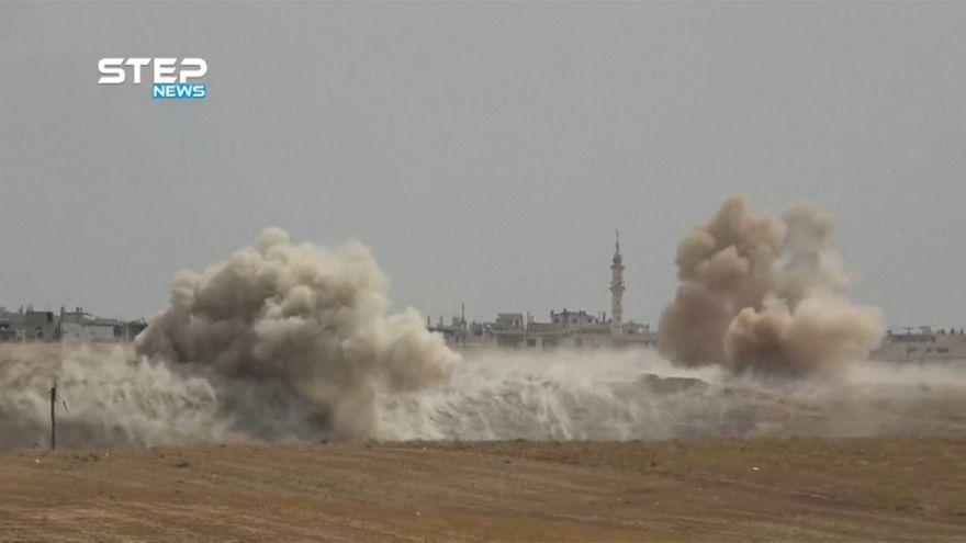 Siria, centinaia di feriti in presunto attacco chimico