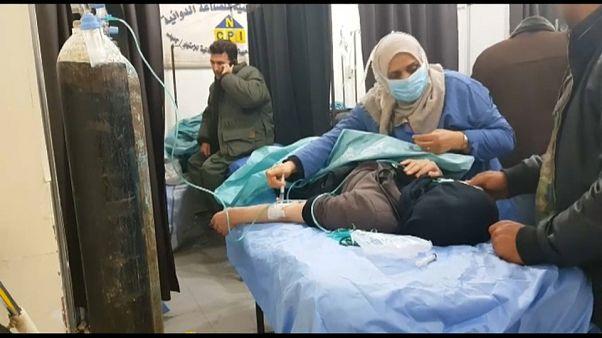 Боевики подверглись авиаударам после химатаки в Алеппо