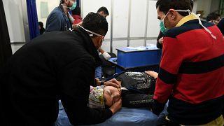 107 civiles heridos tras un ataque con gas cloro en Alepo