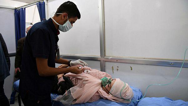 واکنشها به حمله شیمیایی حلب؛ اقدام نظامی روسیه علیه شورشیان
