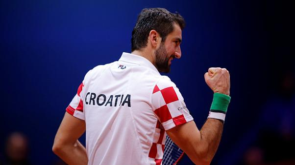 Croacia gana su segunda Copa Davis