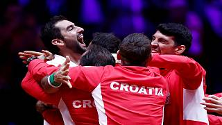 Croatia wins the 2018 Davis Cup, beating France 3-1