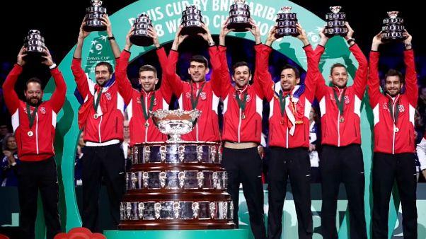 Croácia bate França e conquista Taça Davis