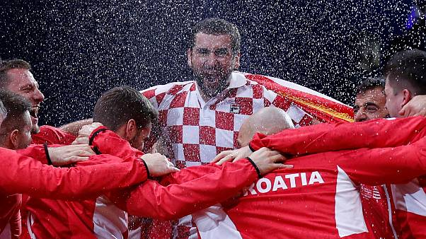 Kroatiens Tennisteam gewinnt Davis Cup