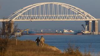 Пограничники РФ захватили три украинских корабля