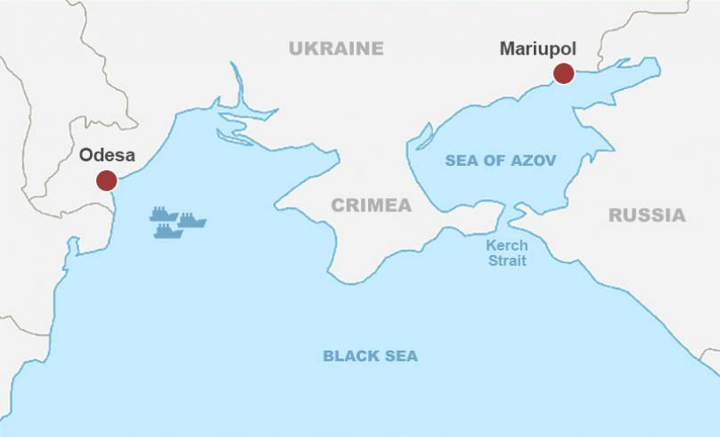 Tensions rise in the Kerch Strait after a naval clash between Russia and Ukraine