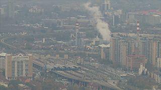 Macedónia debate-se com o problema da poluição do ar