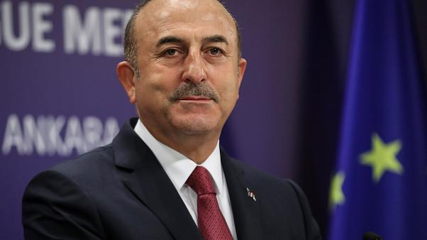 "Turkish FM Cavosuglu says federation a ""failed solution"" for Cyprus"