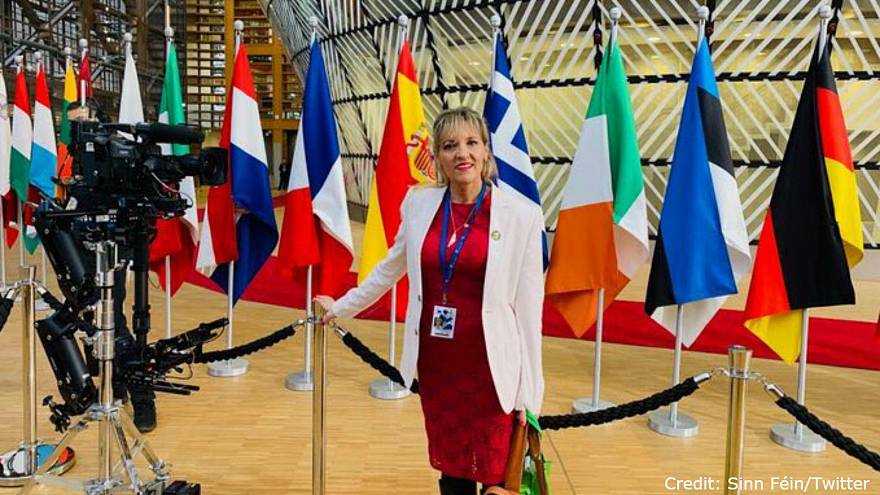 I'm being 'thrown out' of the European Parliament, says Sinn Fein MEP