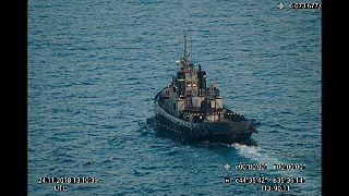 فيديو: روسيا تحتجز 3 سفن أوكرانية في مضيق كيرتش