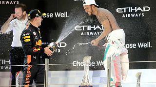 Formule 1 : Hamilton l'emporte à Abu Dhabi