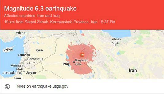عکس های زلزله 6.4 ریشتری کرمانشاه  آخرین جزئیات زمین لرزه
