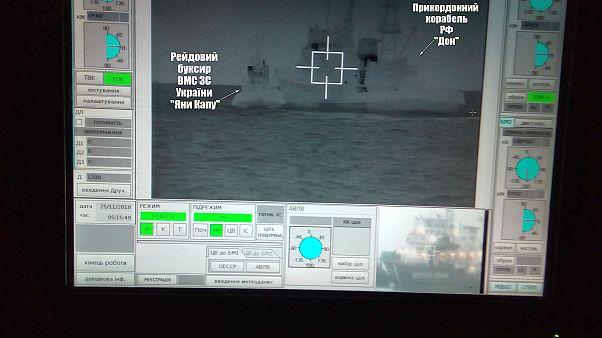 AB, Rusya'dan el koyduğu Ukrayna donanmasına ait üç gemiyi serbest bırakmasını istedi