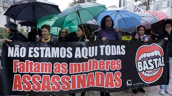 Portuguesas exigem justiça aos tribunais nos casos de violação