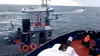Rússia interceta navios ucranianos