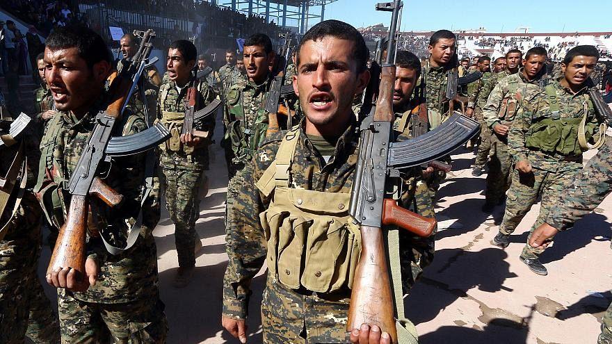 أفراد من قوات سوريا الديمقراطية - أرشيف رويترز