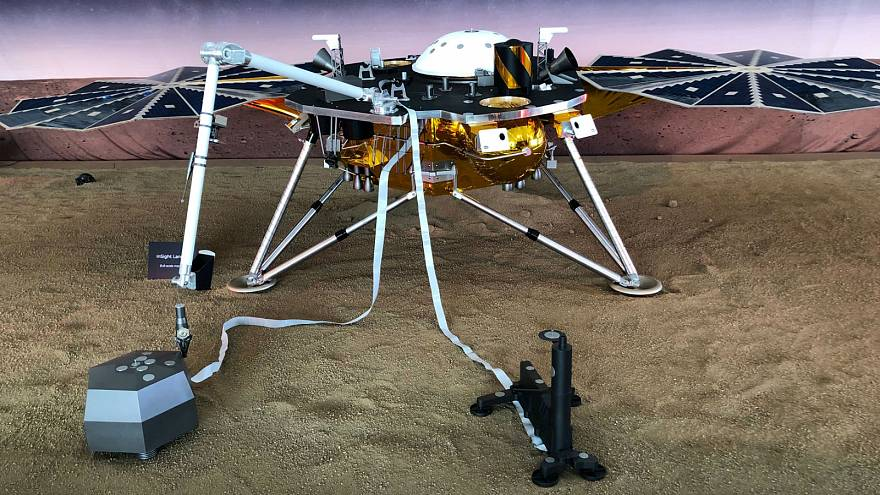 Watch again: NASA's InSight lander arrives on Mars