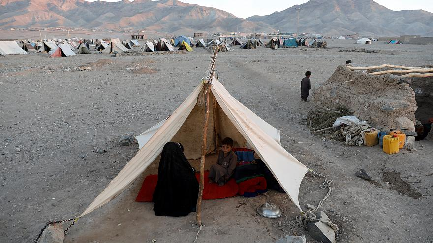 Flüchtlingsfamilie in Herat