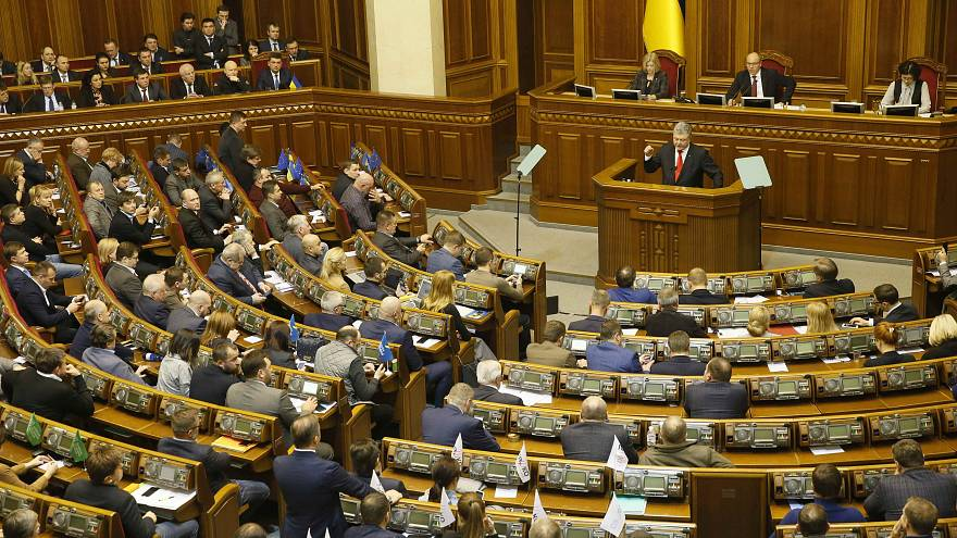 Ukraine introduces martial law amid crisis with Russia