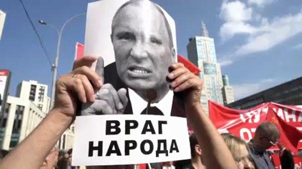 Russland: Proteste gegen Putins Rentenreform