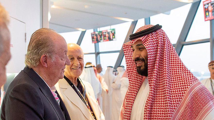El rey Juan Carlos y Mohamed bin Salman: la foto de la discordia