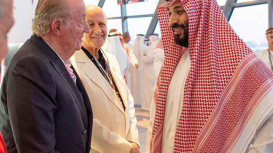 El rey Juan Carlos I en una polémica y reciente aparición pública