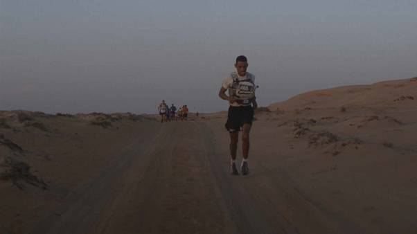 Moroccan runners dominate Oman desert mega-marathon