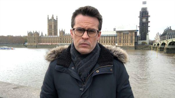 Euronews correspondent Vincent McAviney