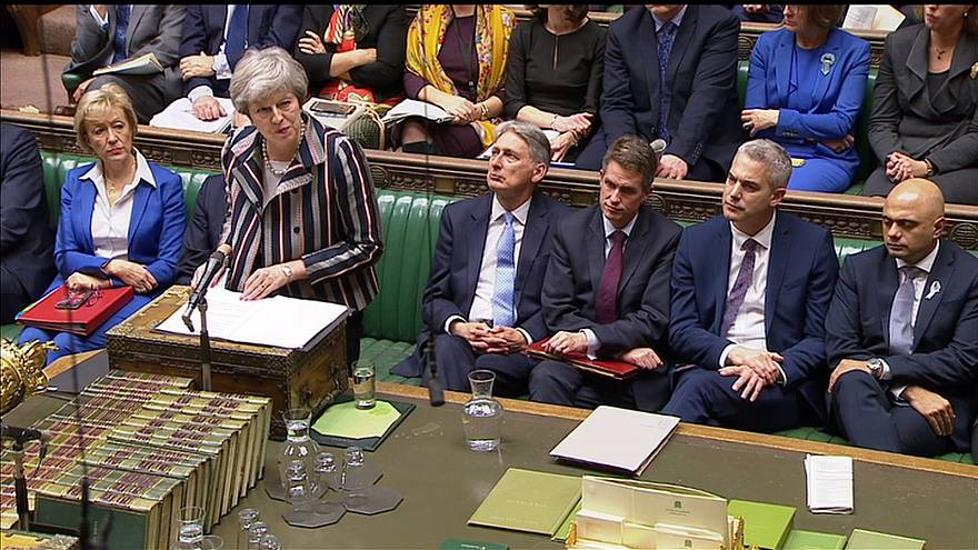 Theresa May défend son accord de Brexit à la Chambre des Communes