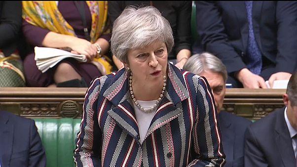 May kämpft für EU-Austrittsentwurf