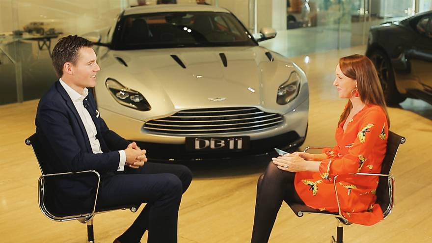 Aston Martin's MENAT President talks F1 partnerships & Brexit impact