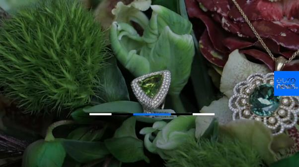The floral gemstone bouquet for Xmas shoppers with expensive tastes