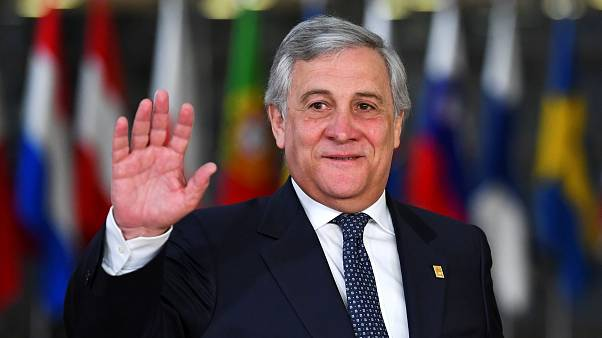 European Parliament President Antonio Tajani on Nov 25, 2018.