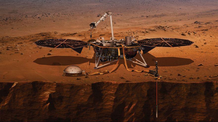 مریخپیمای ناسا بر سطح سیاره سرخ فرود آمد