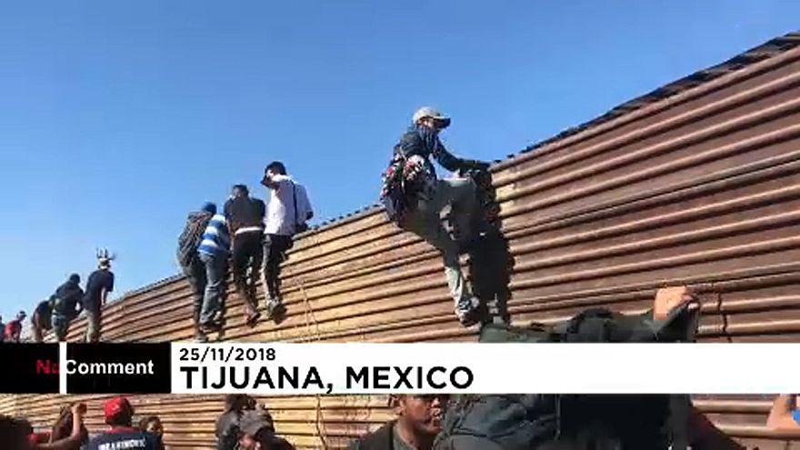 Mexikó deportálja azokat, akik megrohamozták az amerikai határt