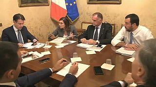 Governo italiano discute mudanças no orçamento