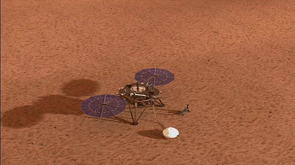 Nasa-Sonde-InSight: Riskante Landung auf dem Mars geglückt