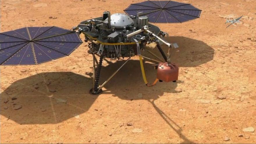 Missão InSight chega a Marte