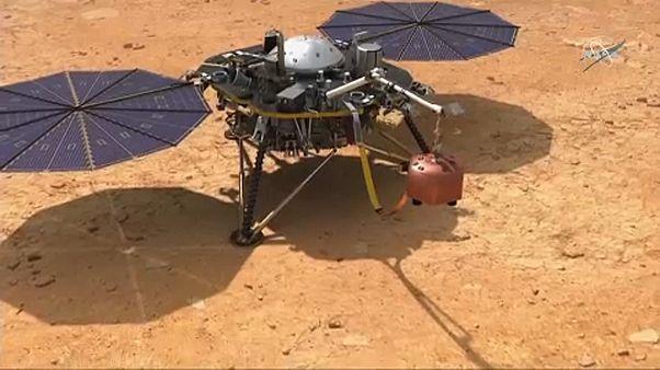 Sikeresen leszállt a Marson a NASA Insight nevű űrszondája